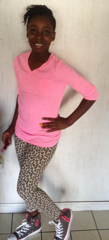 Kamaia, age 8