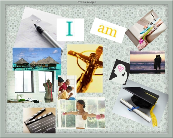 My 2012 Dream Board . Made at oprah.com/dreamboard/index.html
